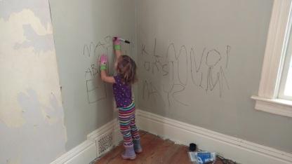 Wall Alphabet Maggie